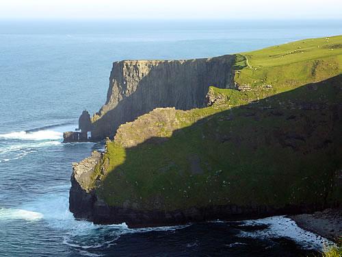 Nördliche Klippe der Cliffs of Moher