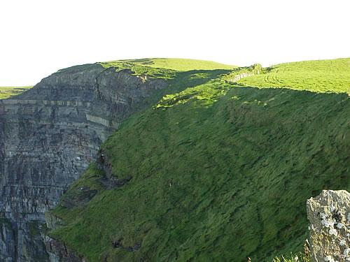 Beeindruckende Klippen an der Westküste Irlands