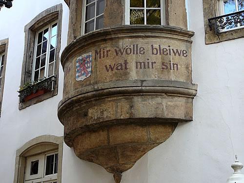 Lebensmotto der Luxemburger: