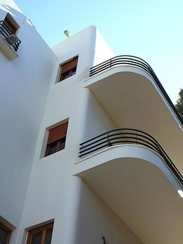 Wohnhaus im Bauhausstil in Tel Aviv