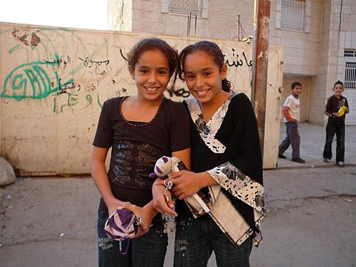 Kinder im Palästinensischen Autonomiegebiet