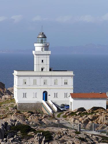 Leuchtturm am Capo Testa (Sardinien)