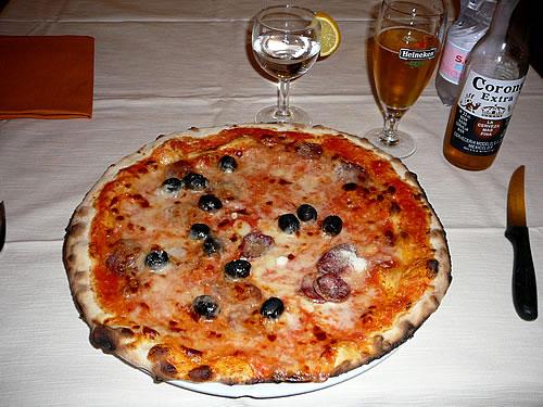 Lecker: original italienische Pizza