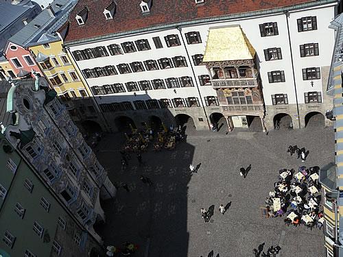 Blick vom Stadtturm auf die Altstadt