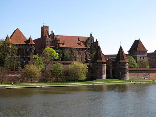 Die Ordensburg Marienburg war einst die Hauptstadt der Kreuzritter