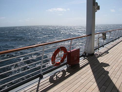 Was könnte erholsamer sein, als der Blick aufs weite Meer?