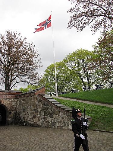 In der Akershus-Festung