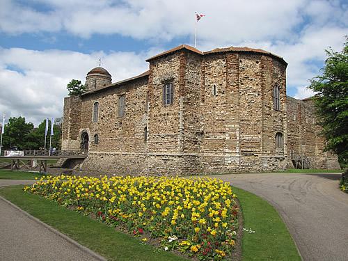 Colchester Castle, eine normannische Burg