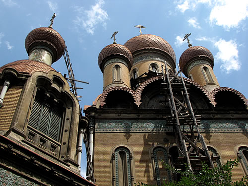 Die zweitschönste Kirche der Stadt ist die Universitätskirche