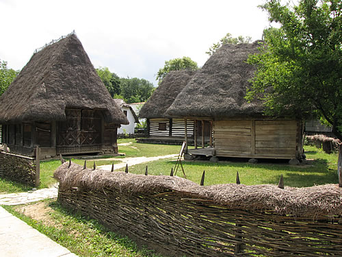 Rumänischer Hof im Freilichtmuseum