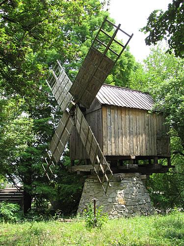 Windmühle im Freilichtmuseum
