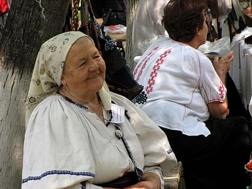 Rumänische Bäuerin