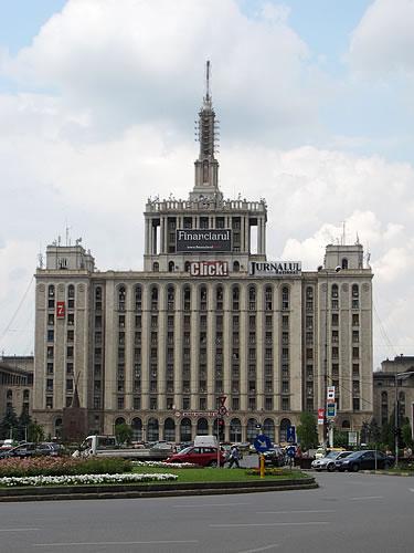 Das Pressehaus, Symbol der Freiheitsbewegung