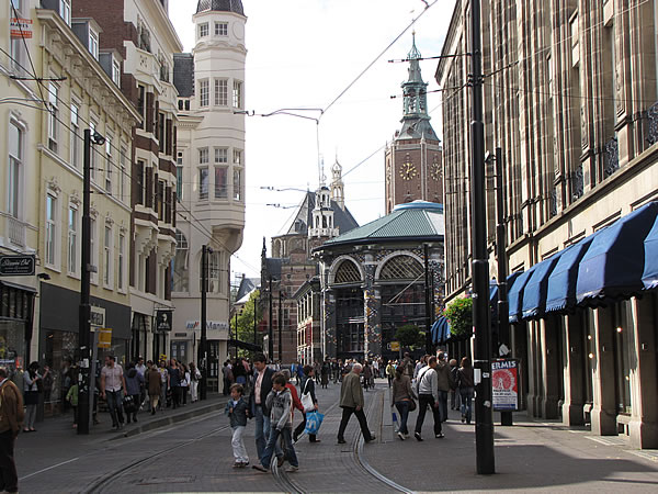 In der Innenstadt von Den Haag