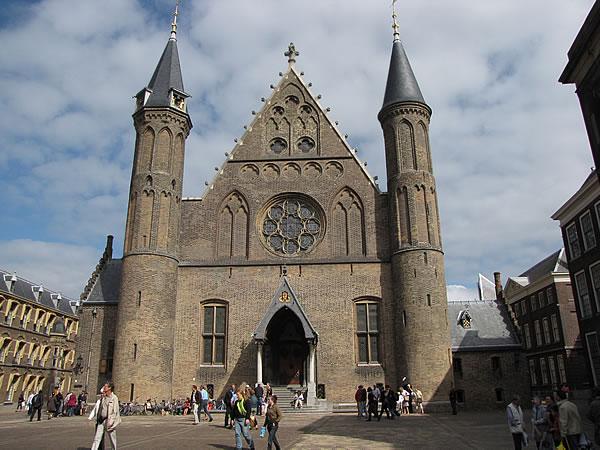Der Binnenhof ist der Sitz des Parlaments der Niederlande