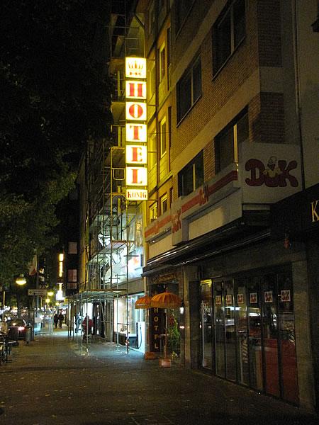 Das Hotel König in Köln-Kalk