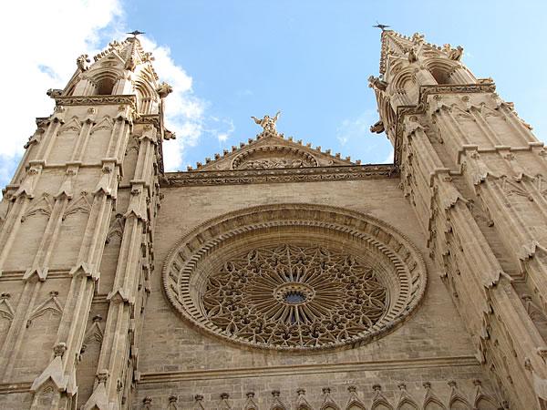 Fassade der Kathedrale La Seu
