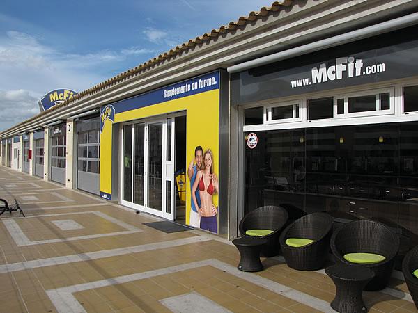 McFit-Mitglieder können auch die Filiale an der Playa de Palma kostenlos nutzen