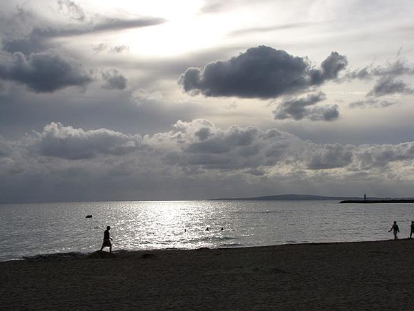 Die Playa de Palma in den Abendstunden