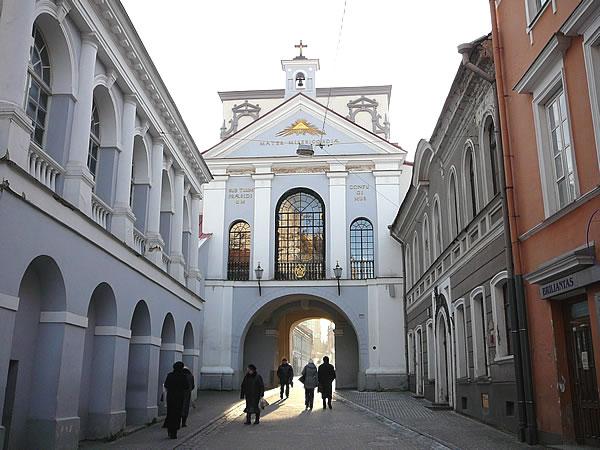 Die Torkapelle im Aušros Vartai Tor