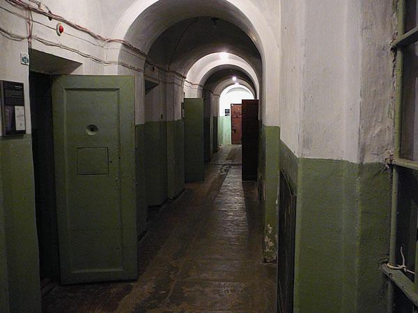 Im Keller des KGB-Museum, hier befand sich das Gefängnis