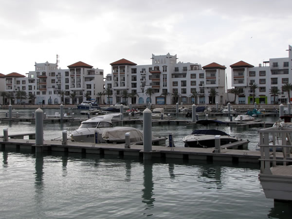 Der Bereich um den Hafen nennt sich