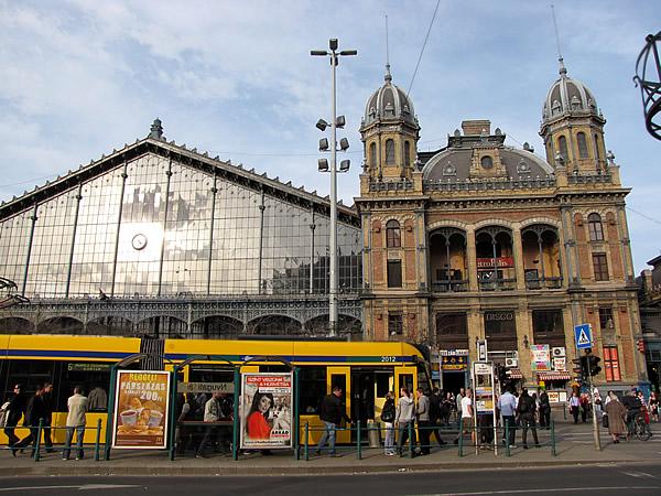 Der Nyugati pályaudvar (Westbahnhof)