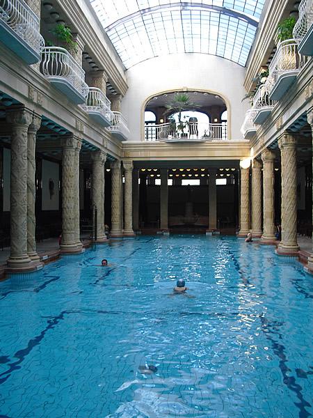Die Quellen des im Jugenstil erbauten Gellértbads wurden bereits zur Türkenzeit genutzt