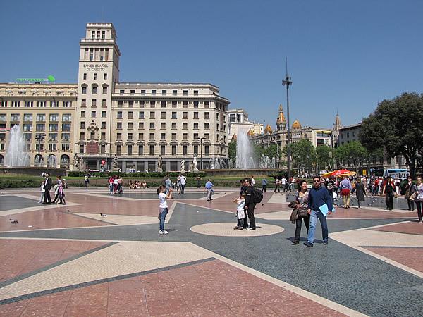 Der Plaça de Catalunya