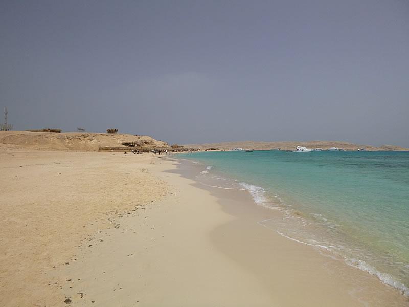 Der Strand von Paradise/Mahmaya Island