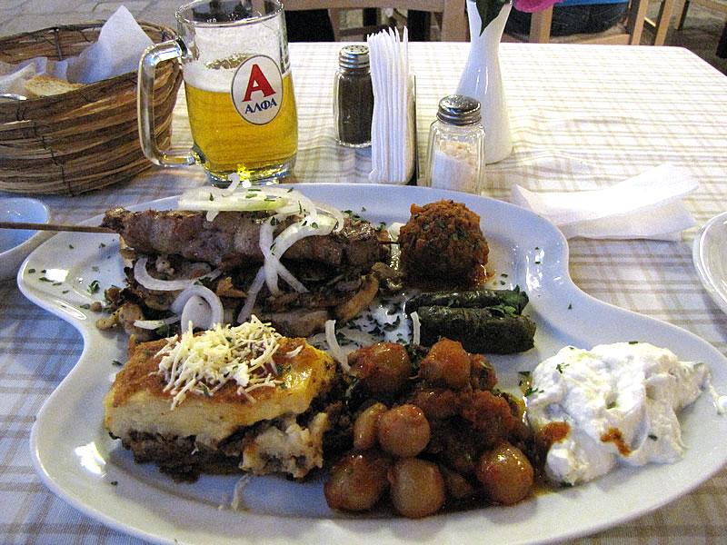 Ich liebe das griechische Essen!
