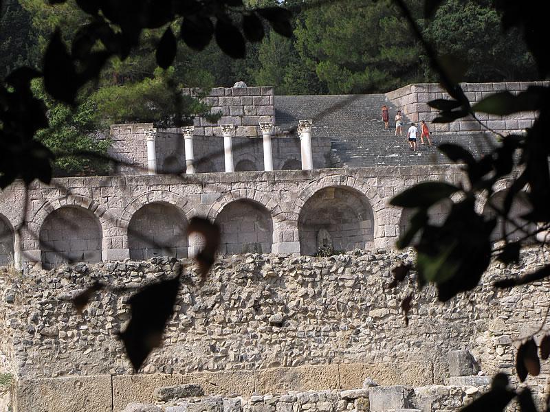 Das Asklepieion, das größte Kranken- und Kurhaus der Antike