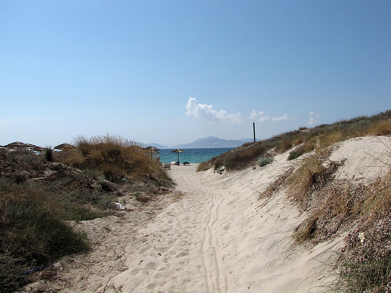 Dünen am Marmari Beach