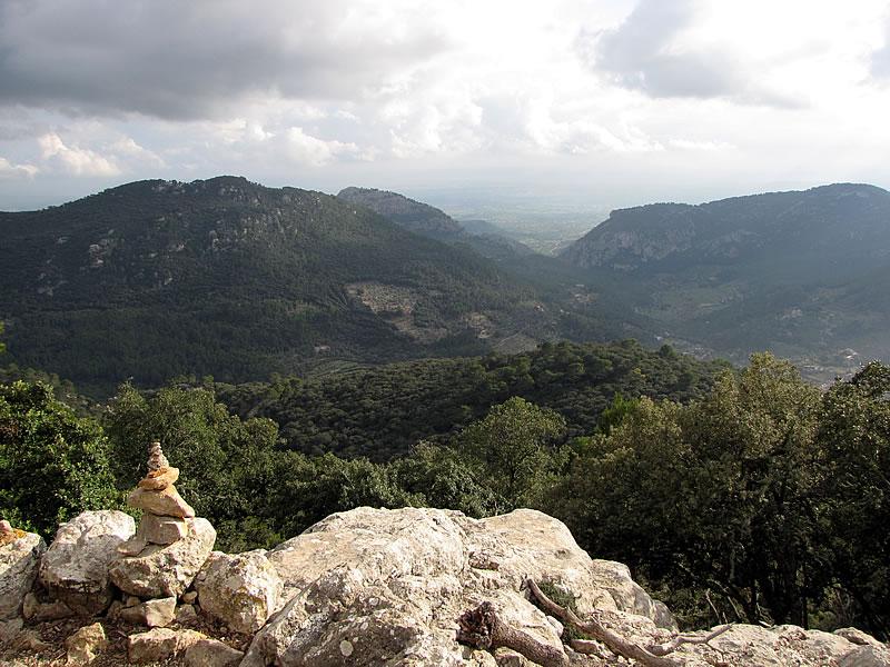 Mein Ziel ist der Aussichtspunkt Mirador de ses Basses