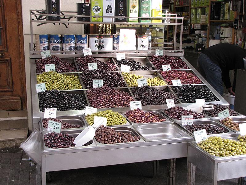 """Im Viertel """"Ladadika"""" waren einst viele Olivenhändler ansässig"""