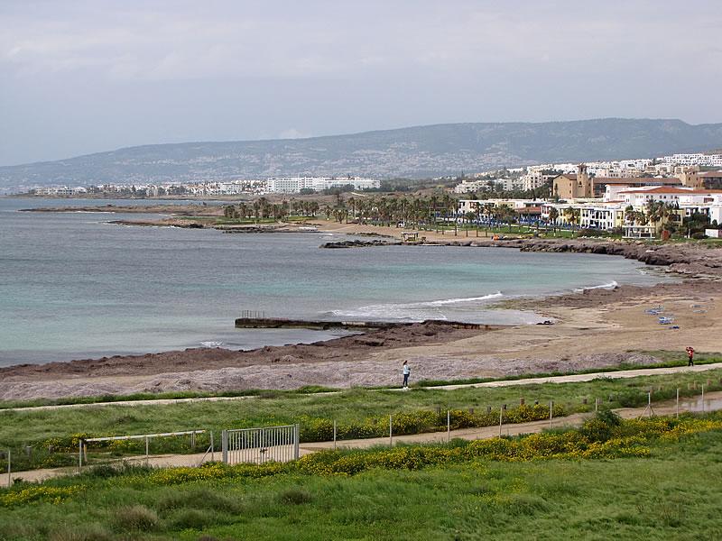Küste von Paphos, Zypern