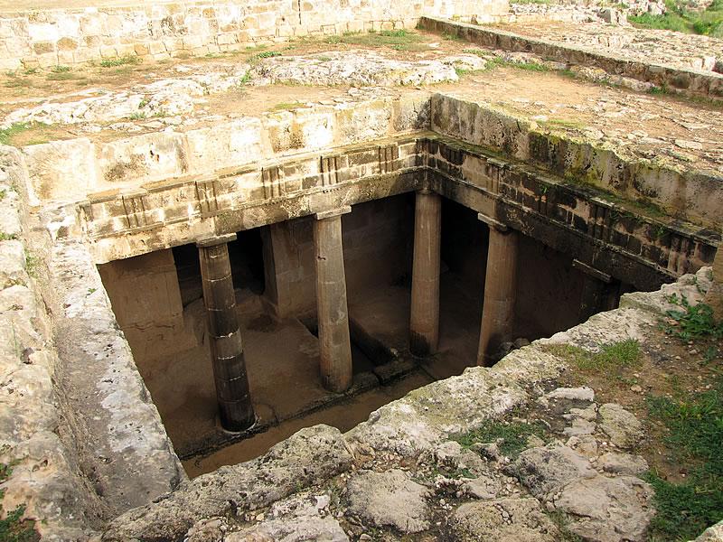 Erbaut wurden sie im 3. Jahrhundert v. Chr. während der Herrschaftszeit der Ptolemäer