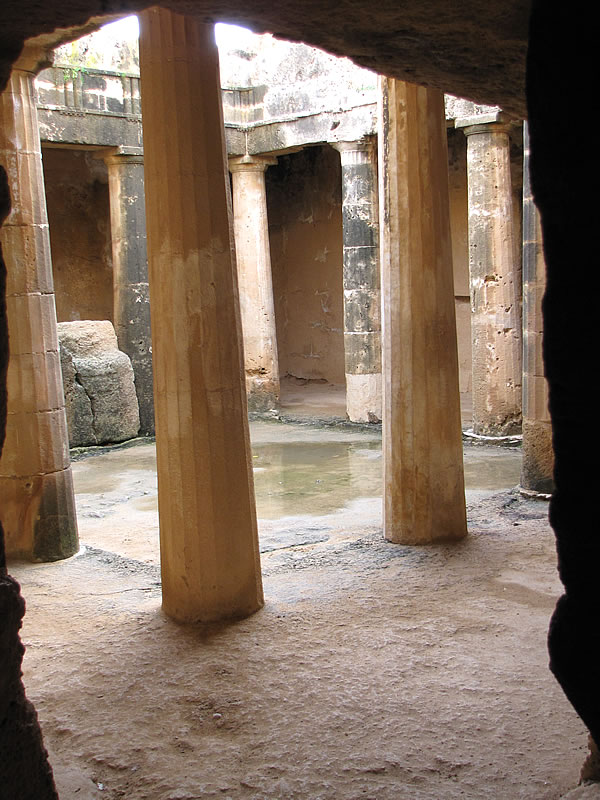 Köningsgrab in Nea Paphos